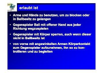 erlaubt ist - Westdeutscher Handball-Verband