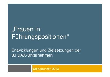 Dax-30_Frauen_in Fuehrungspositionen