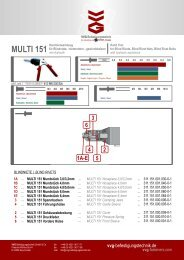multi 151 - VVG Befestigungstechnik GmbH & Co