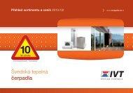Aktuální ceník tepelných čerpadel - Tepelná čerpadla IVT