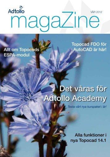 Ladda ner det nya numret av Adtollo magaZine.