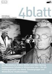 4blatt Nr. 31 - Kantonsschule Büelrain, Winterthur