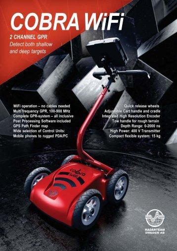 Radarteam Cobra GPR Brochure