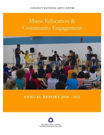 National Arts Centre Music Education & Community Engagement