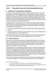 TEIL B Methodischer Ansatz der Infrastrukturkostenbilanzierung 5 ...