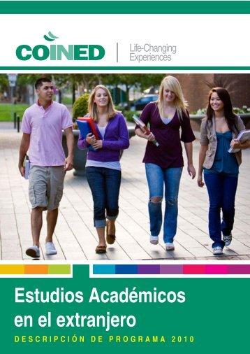 Estudios Académicos en el extranjero - Coined.