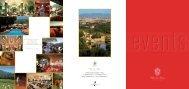Brochure Meeting & Banchetti - Villa La Massa