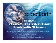Global AIS: Enhancing Maritime Safety and Security ... - exactEarth