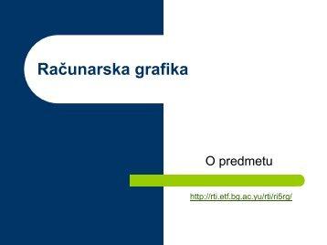 O Predmetu RG 2009.pdf