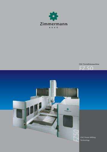 FZ50 - Portalfräsmaschinen - galika