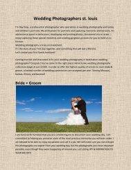 Wedding Photographers st. louis