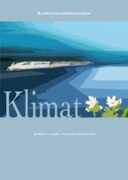 Grönt ljus i klimatdebatten - Europakorridoren