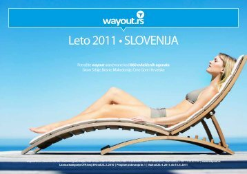slovenija - ultra first minute - leto 2011 - Wayout