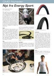 Nyt fra Energy Sport - Cykel-Motion Danmark