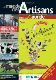 N°56 - Janvier-Février 2007 - Chambre de métiers et de l'artisanat