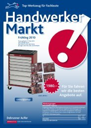 Handwerker Markt - Debrunner Acifer