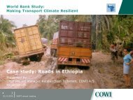 Case study: Roads in Ethiopia - World Bank