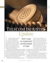 TELECOM INDUSTRY Update - Sybase