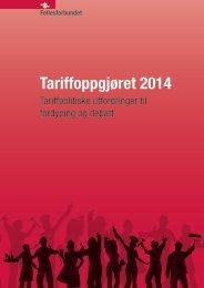 Debattskissa til tariffoppgjøret 2014 - Fellesforbundet