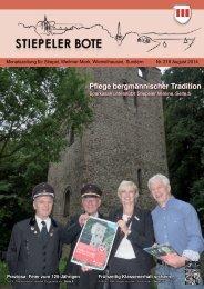 Stiepeler Bote 218 - August 2014