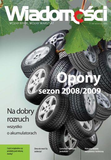 Wiadomości 28/2008 - Inter Cars SA