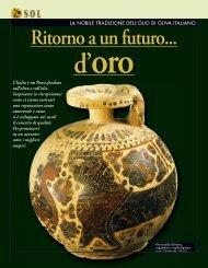 Ritorno a un futuro... d'oro - L'Informatore Agrario