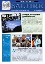 2010 - Scottish Flag Trust