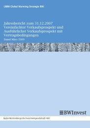 Jahresbericht zum 31.12.2007 Vereinfachter ... - Samuel Begasse