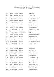 Heimspielplan der RR 09-10 für alle SVM ... - Tt-mistelgau.com