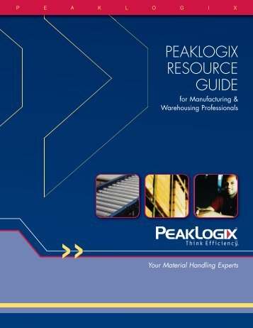 PeakLogix Resource Guide - Marathon Marketing