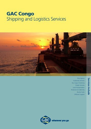 Shipping & Logistics Republic of Congo - GAC