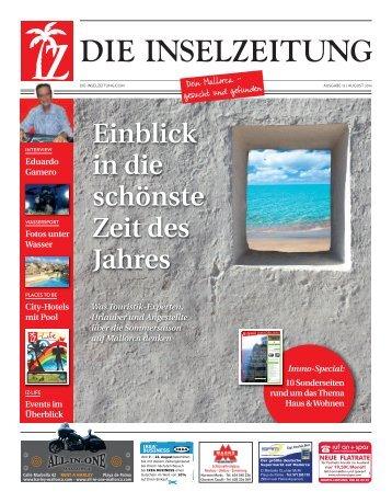 Die Inselzeitung Mallorca August 2014
