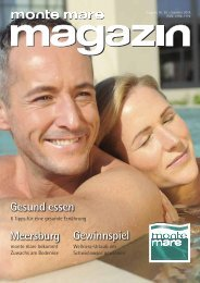 monte mare magazin Sommer 2014