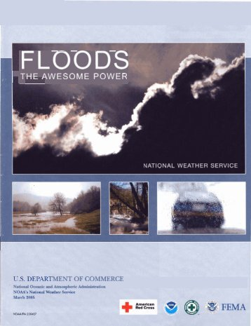 Brochure: Floods the Awesome Power - Flood Safety - NOAA