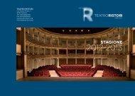 STAGIONE - Teatro Ristori