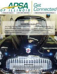 APSA of Illinois October November December Magazine