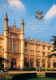 RICHMOND 2006-7-8 viewbook - Richmond - The American ...