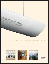 Indirect Linear Fluorescent - Ruud Lighting Direct