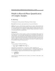 Pitfalls in Rietveld Phase Quantification of Complex Samples