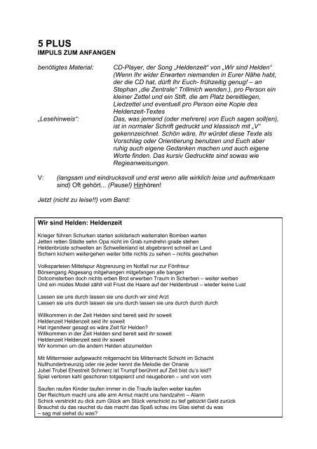 5 PLUS - Jugendserver Niedersachsen
