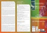 Programme Culture à l'hôpital 2006 - Passeurs d'images