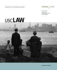 usclaw - USC Gould School of Law - University of Southern California
