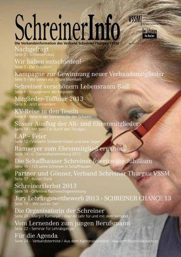 Kampagne zur Gewinnung neuer Verbandsmitglieder Schreiner ...