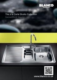 Blanco À la Carte Studio Collection. - Dream Kitchens