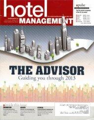 Hotel Management - 2012 Multiunit Owners & Developers