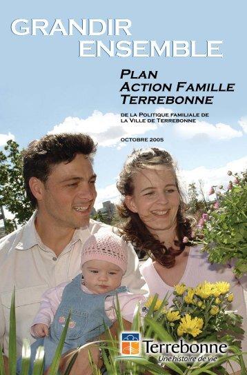 Plan action famille - Ville de Terrebonne