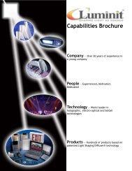 Capabilities Brochure - BFi OPTiLAS A/S