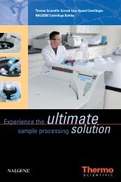 low-speed centrifuge solution - Thermo Scientific