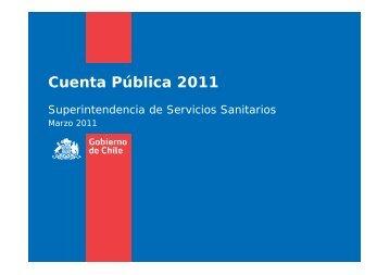 Cuenta Pública 2011 - Siss