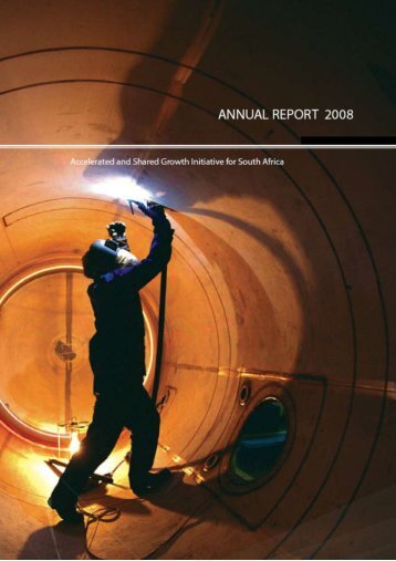 (AsgiSA) Annual Report 2008 - South African Government Information